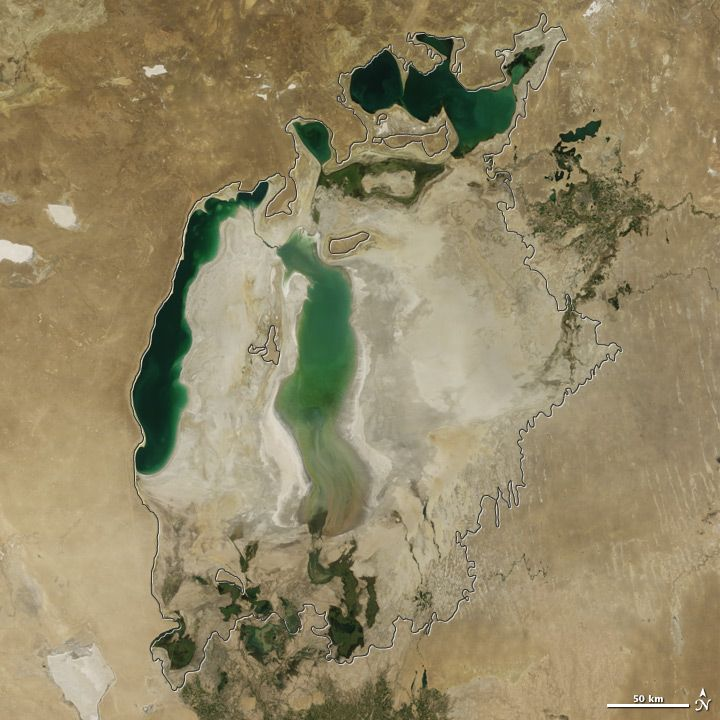 The Aral Sea Is Changing (15 pics)