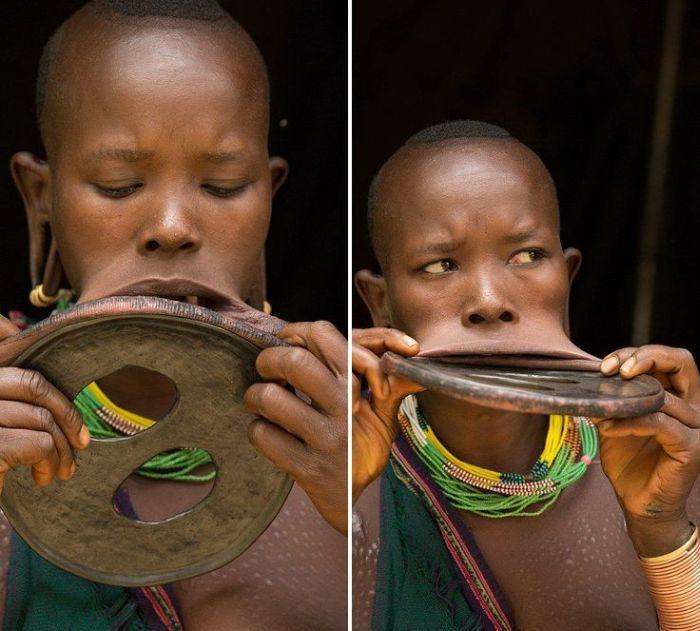 Ethiopian Girl Has A Very Unique Talent (9 pics)
