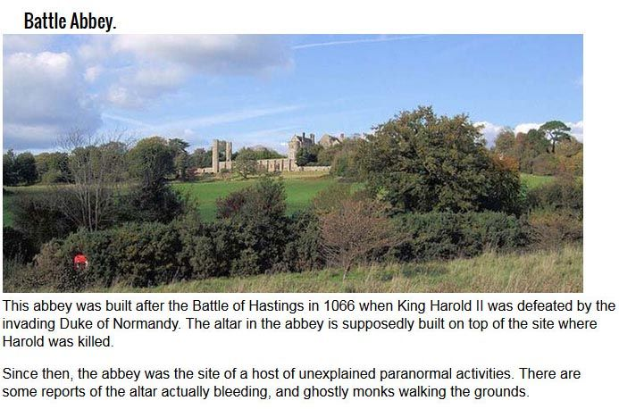 The 8 Most Haunted Battlefields On The Planet (8 pics)