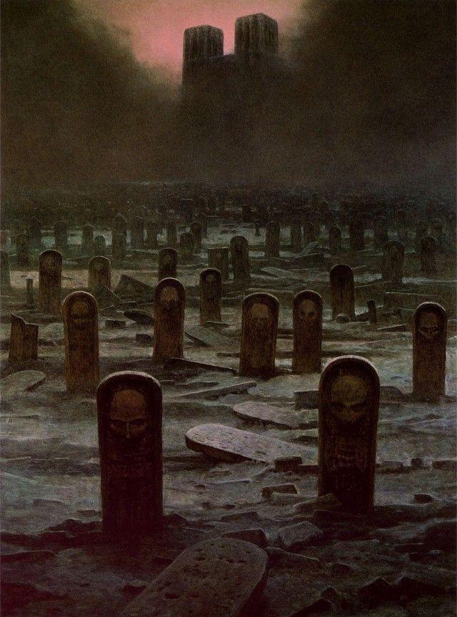 Zdzislaw Beksinski's Visions Of Hell (27 pics)