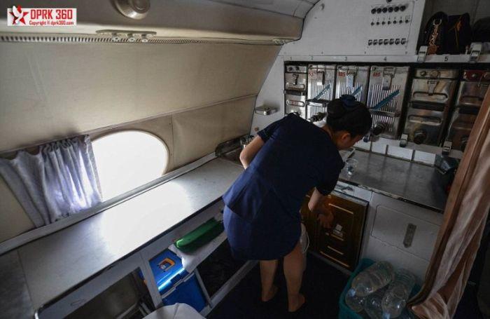 A Flight On A North Korean Airplane (22 pics)