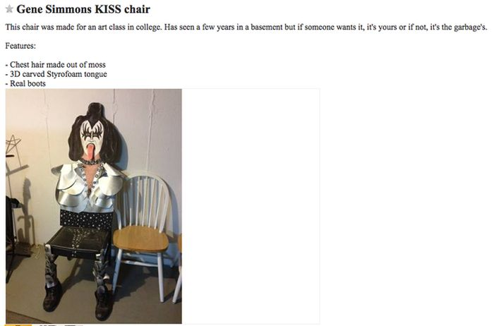 The Strangest Craigslist Ads Ever Created (23 pics)