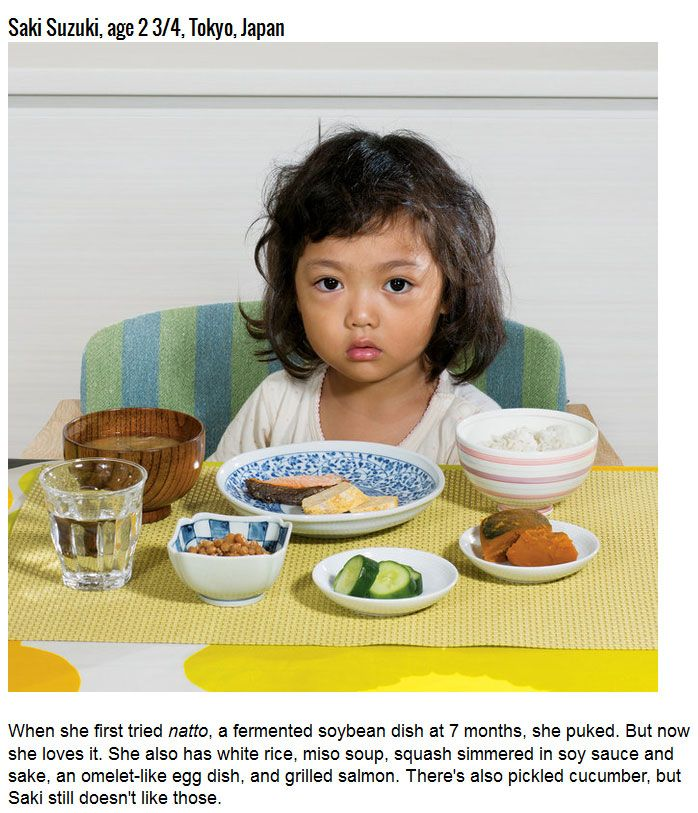 Kids' Breakfasts From All Around The World (11 pics)