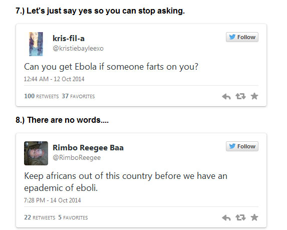 Ebola Is Making Our Population Dumber (12 pics)
