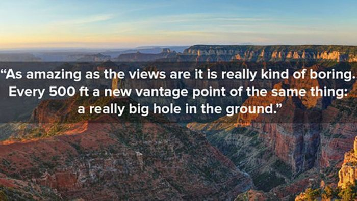 When National Parks Get Bad Reviews On Yelp (10 pics)