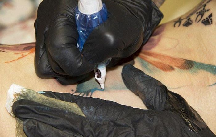 This Woman's Tattoo Was A Surprise (13 pics)