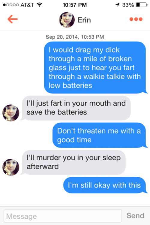 Tinder hookup rules