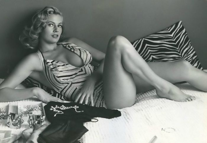 Anita Ekberg Then And Now (2 pics)