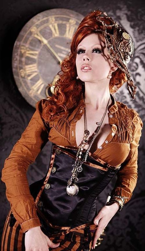 Steampunk Girls Like You've Never Seen Them Before (40 pics)