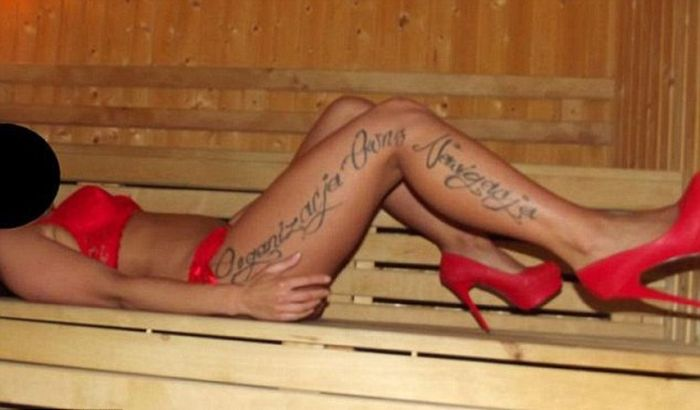 Polish Pimps Tattoo Prostitutes as Property (5 pics)