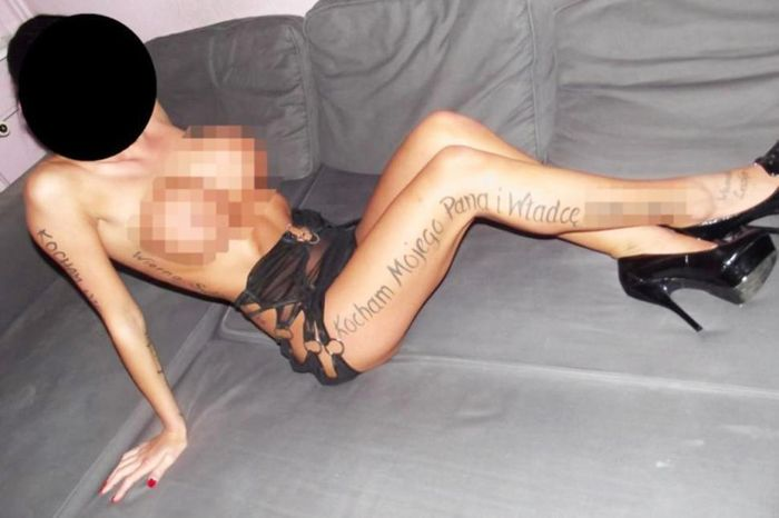 Polish Pimps Tattoo Prostitutes as Property (5 pics)