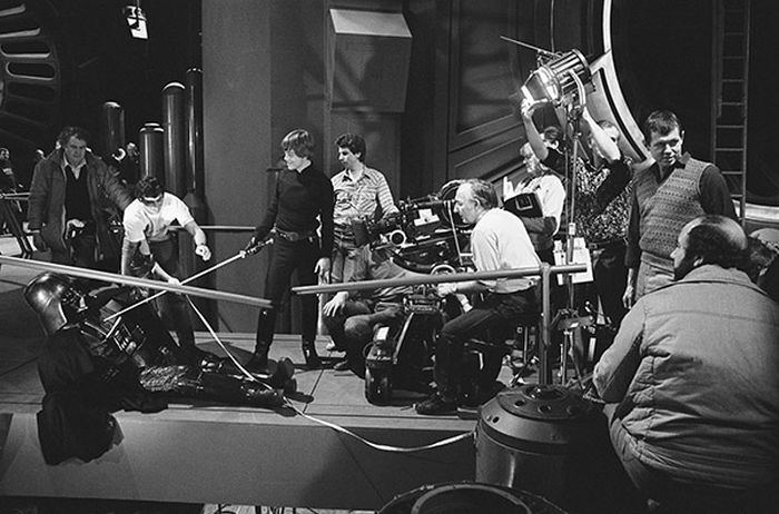 Rare Behind The Scenes Photos From Return Of The Jedi (40 pics)