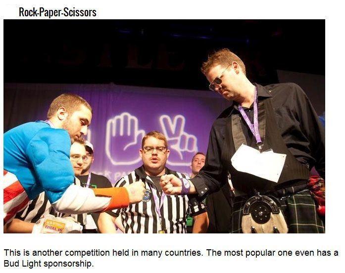 Strange Competitions You Won't Believe Really Exist (22 pics)