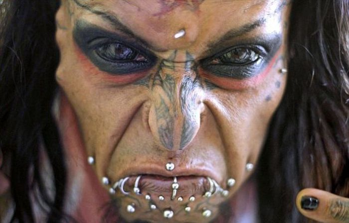 This Man Truly Looks Like The Devil (11 pics)