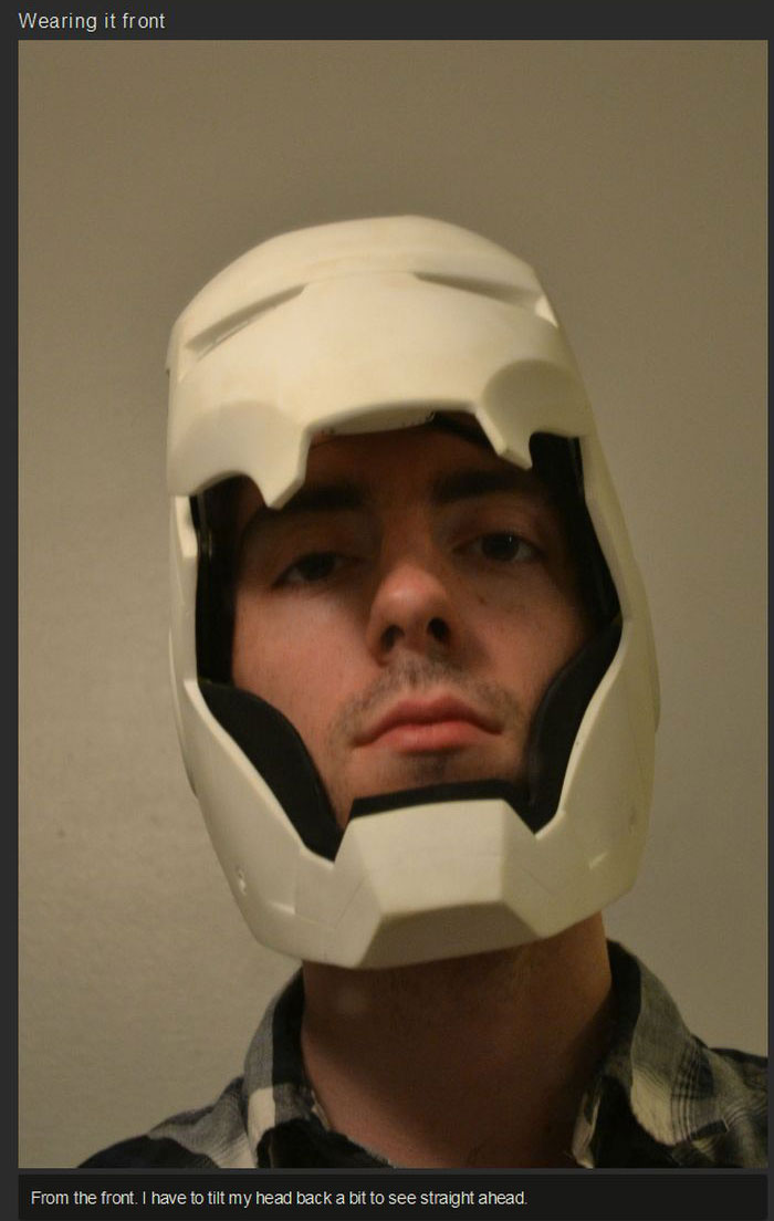How To Build Your Own Iron Man Helmet (31 pics)