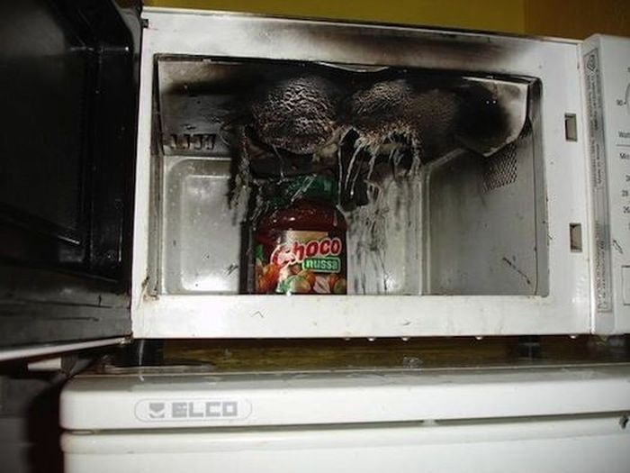When Using Your Microwave Goes Wrong 25 Pics