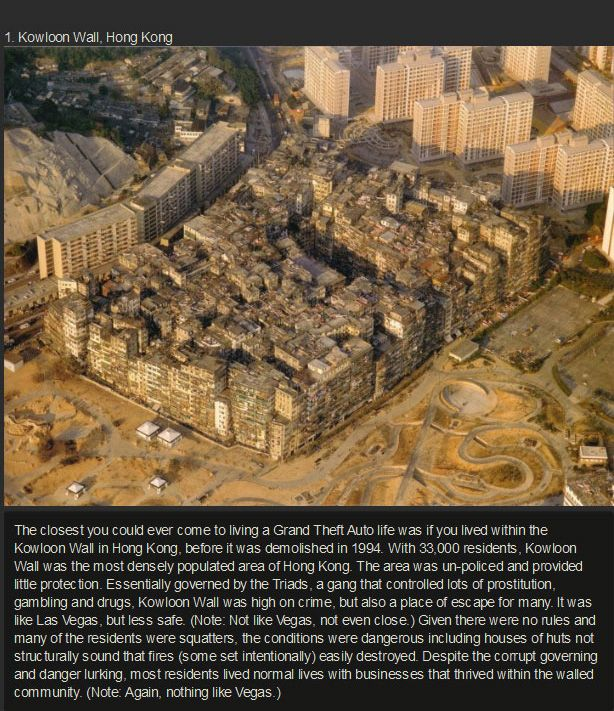 The 10 Most Bizarre Neighborhoods On The Planet (10 pics)