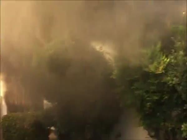 Random Stranger Rescues Man From Burning House