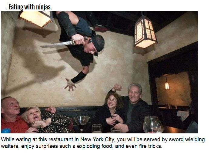 The Most Unique Dining Experiences In The World (25 pics)