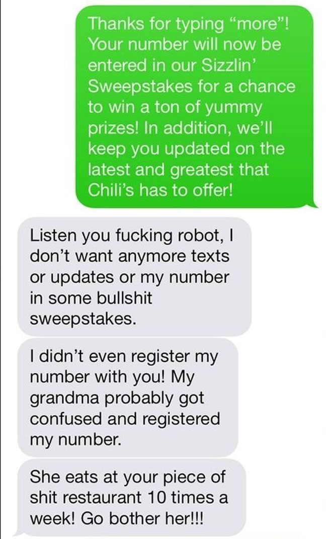 Using Someone Else's Grandma To Troll (10 pics)