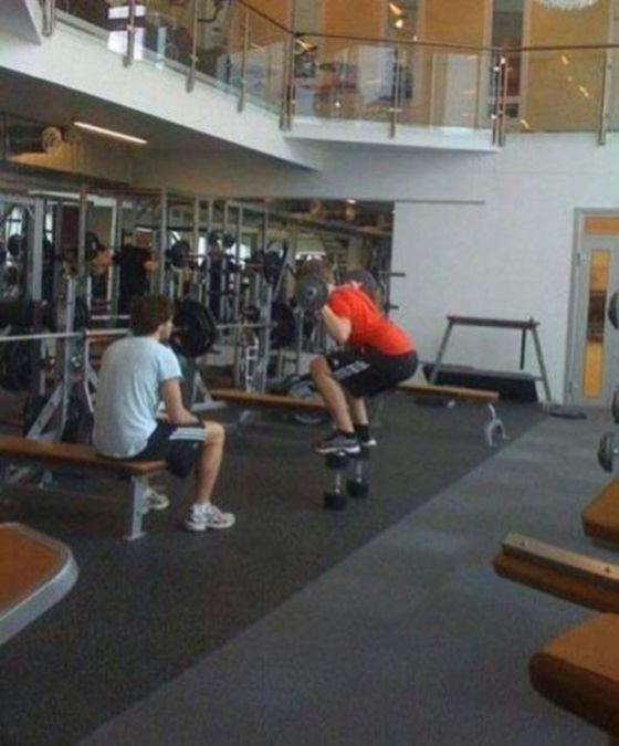 These People Have No Idea How To Use The Gym (35 pics)