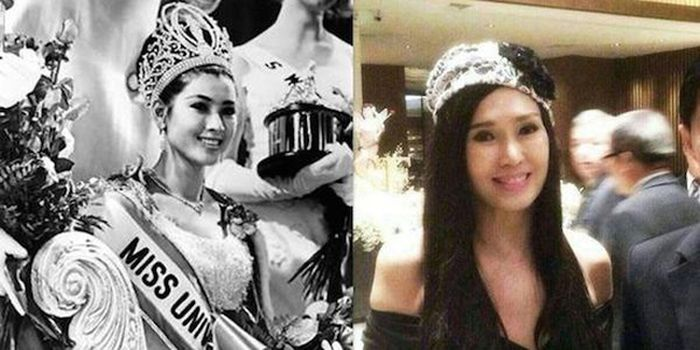 Thailand's Miss Universe Looks The Same As She Did 50 Years Ago (4 pics)