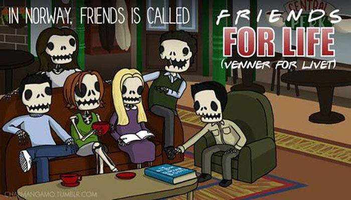 Bad Translations Of American TV Show Names (12 pics)