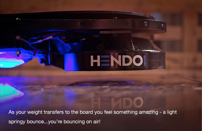 Say Hello To The World's First Real Hoverboard (6 pics + video)