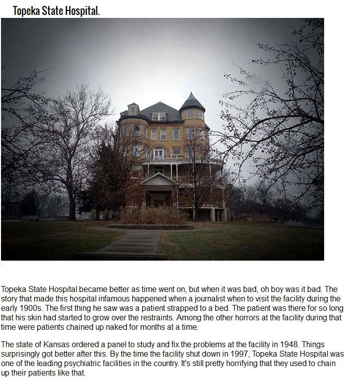 5 Abandoned Asylums That Have Terrifying Stories Behind Them (5 pics)