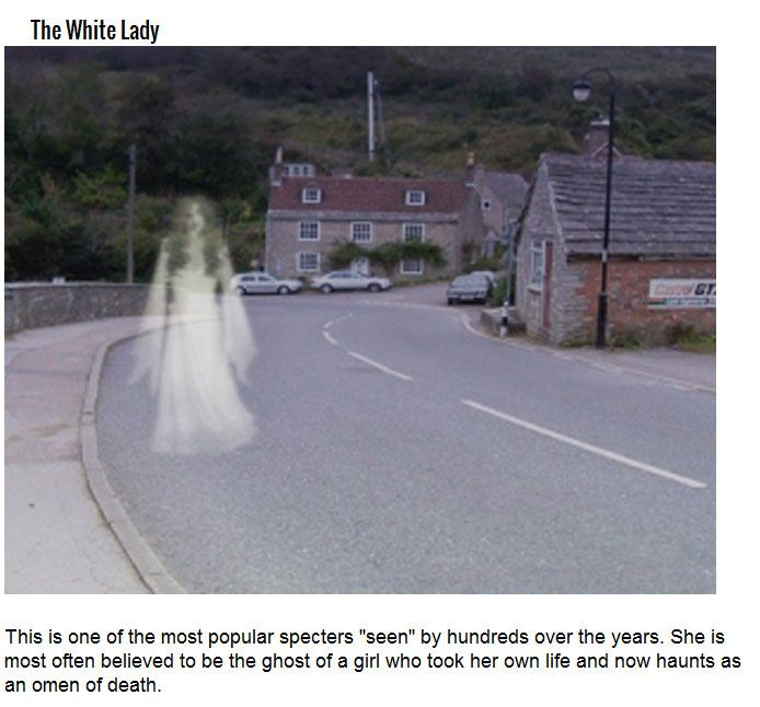 These Are The Creepiest Female Ghosts Of All Time (13 pics)