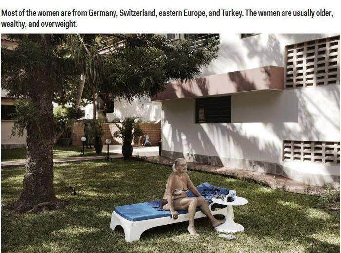 Older Women Hiring Kenyan Men To Keep Them Company (16 pics)