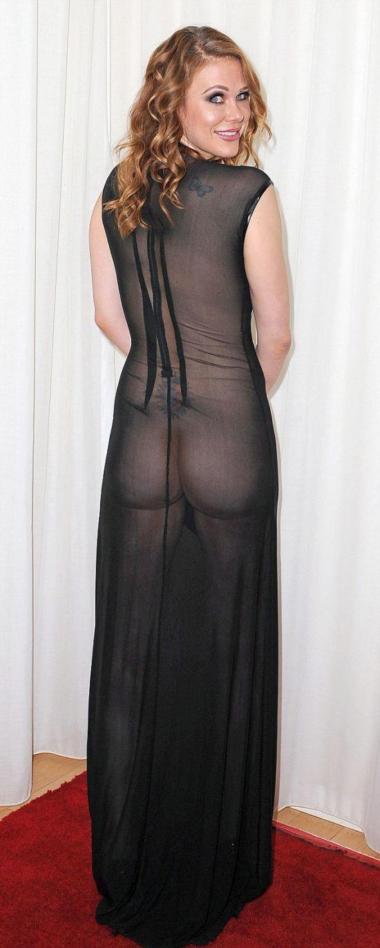 Maitland Ward εκθέτει τον εαυτό της στο νέο φόρεμα της (10 pics)
