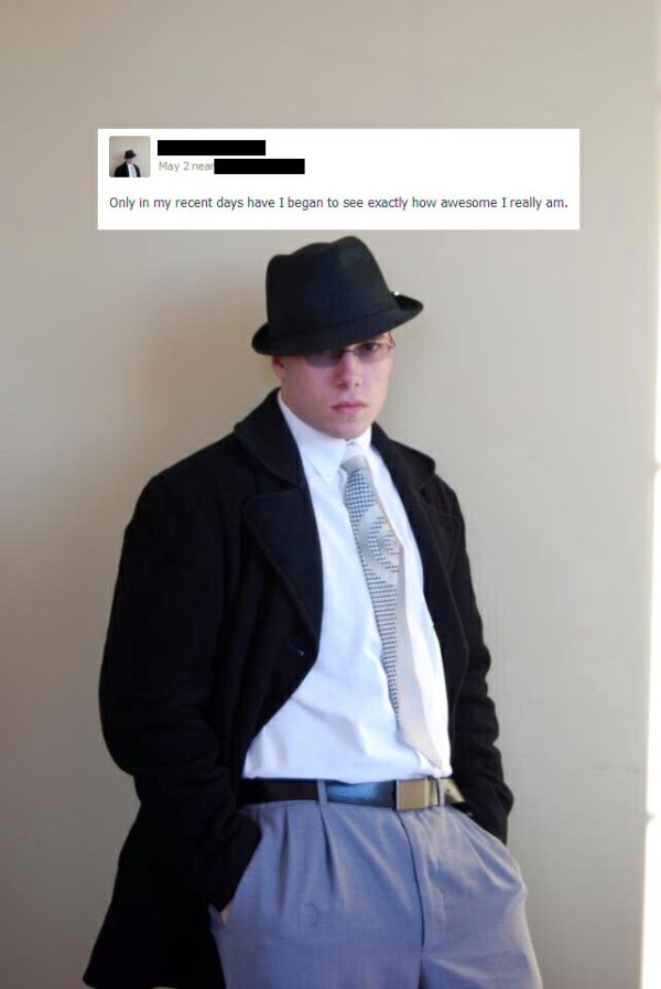 This Is Why You Shouldn't Wear A Fedora (28 pics)