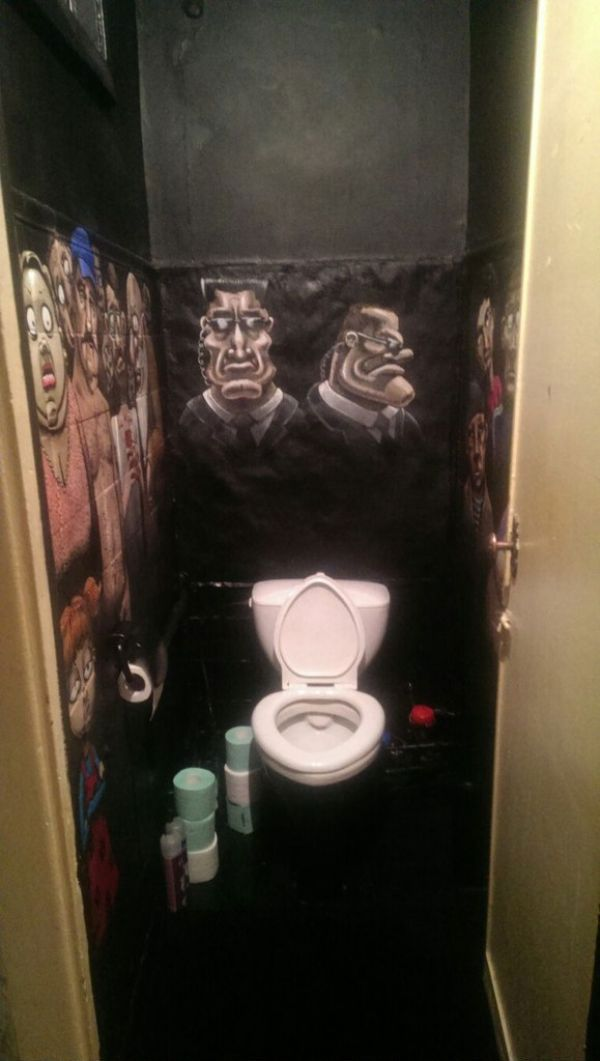 Everyone Is Watching You Go To The Bathroom (14 pics)