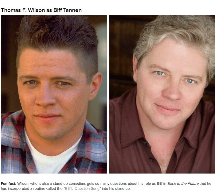 The Cast Of Back To The Future Back In The Day And Today (9 pics)