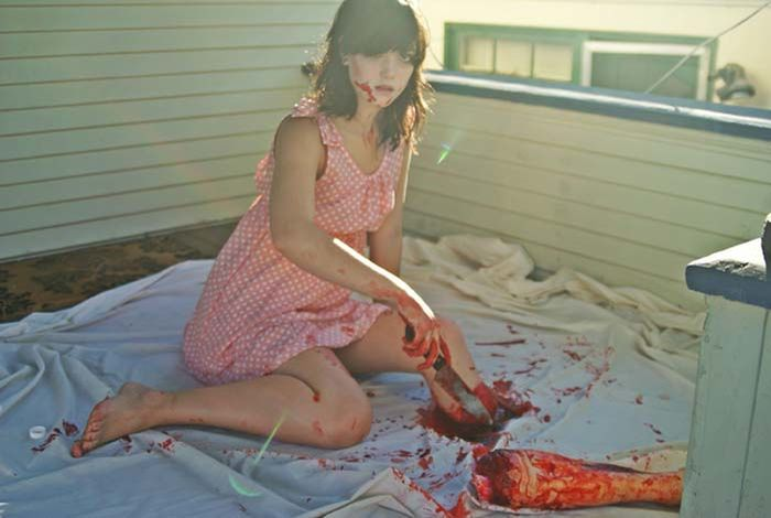 This Girl's Halloween Photo Shoot Is One Of A Kind (4 pics)