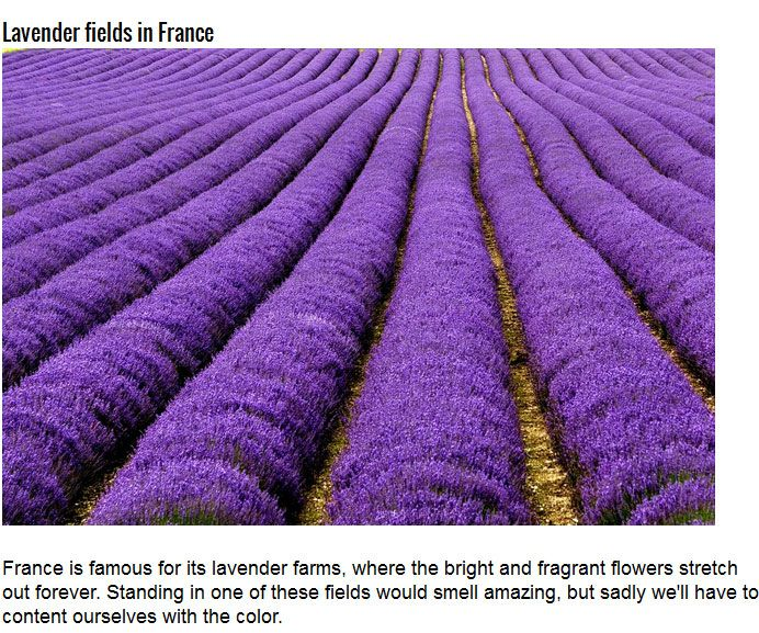 The Six Most Coloful Places On Earth (15 pics)