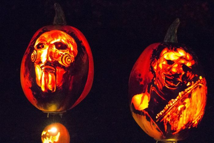 Amazing Display Of 5,000 Carved Pumpkins  (30 pics)