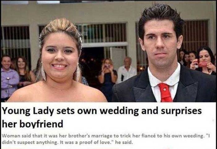 Man Gets Tricked Into Getting Married (3 pics)