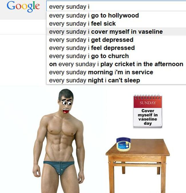 The Best Of Google Autocomplete (20 pics)