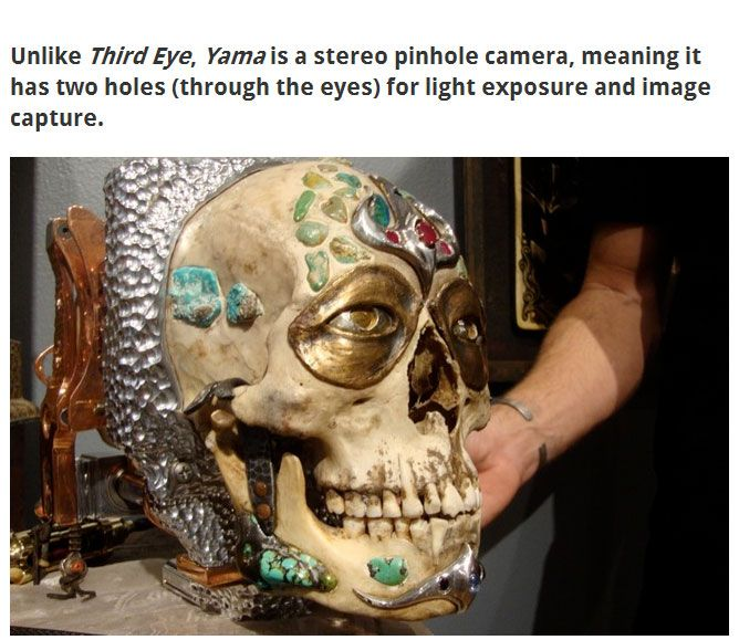 This Human Skull Is Now A Camera (12 pics)
