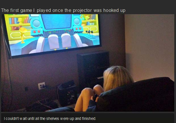 This Couple Built The Most Epic Game Room Ever (10 pics)