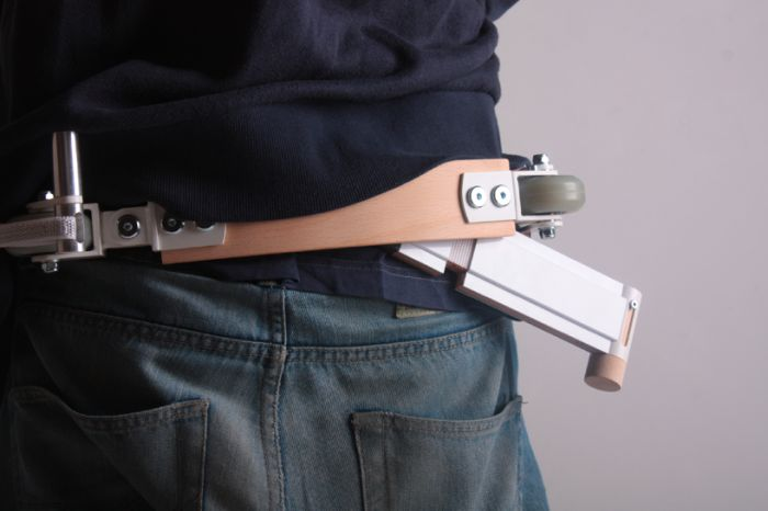 This Scooter Turns Into A Belt (7 pics)