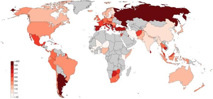Graphs And Maps That Give You An Interesting Perspective (17 pics)