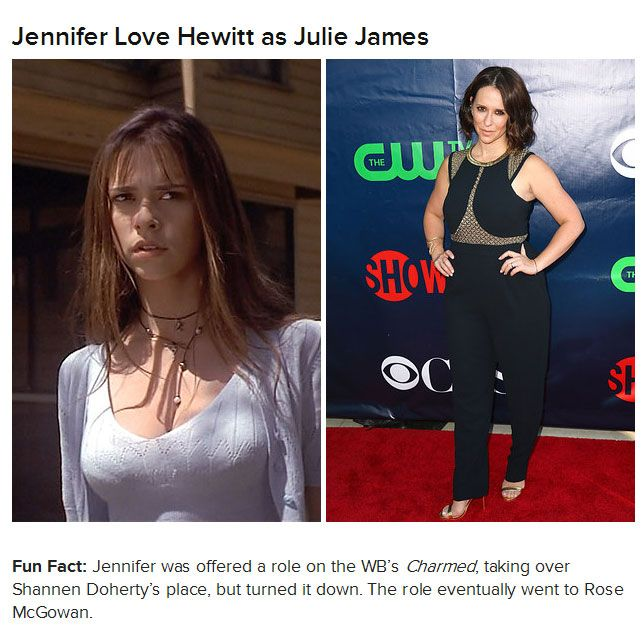 "The Cast Of ""I Know What You Did Last Summer"" Then And Now (8 pics)"