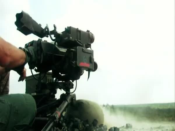 Firing Heavy Weapons in Slow Motion