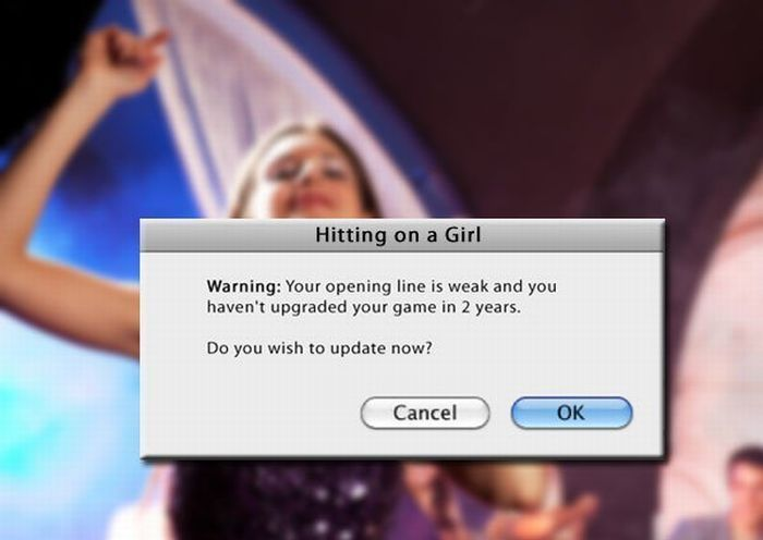 If Real Life Had Pop Up Notifications (10 pics)