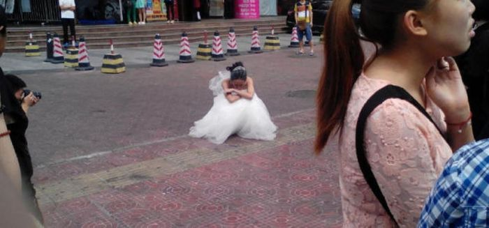 This Wedding Photo Shoot Didn't End Well (10 pics)