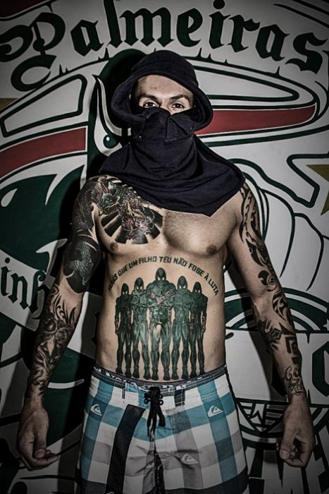 These Brazilian Soccer Fans Are Hardcore (28 pics)