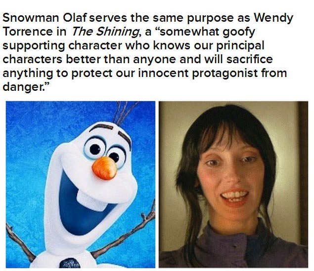 """Are """"Frozen"""" And """"The Shining"""" The Same Movie? (10 pics)"""